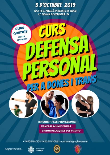 Curs de defensa personal per a dones i trans @ Pavelló d'esports (BERGA)