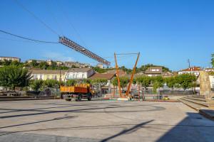 L'estació de Gironella podrà encabir fins a quatre autobusos a la vegada