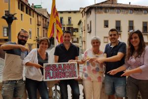 La Marató de sang de Berga 'fitxa' els periodistes de la comarca per superar les 200 donacions en 12 hores
