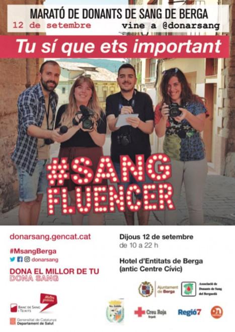Marató de Sang de Berga de 2019 @ Hotel d'Entitats (antic Centre Cívic). C/ Mestre de Pedret, 2. BERGA