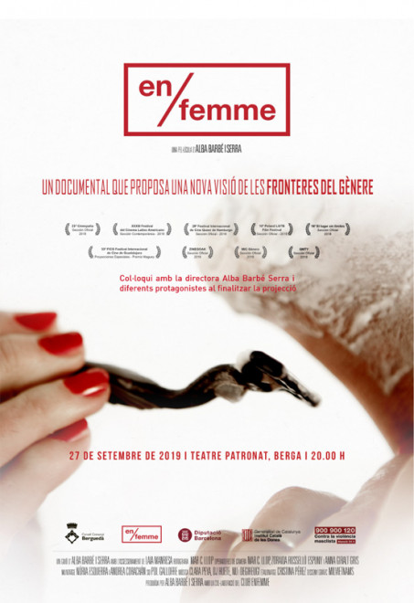 documental EN/FEMME @ Teatre Patronat de BERGA