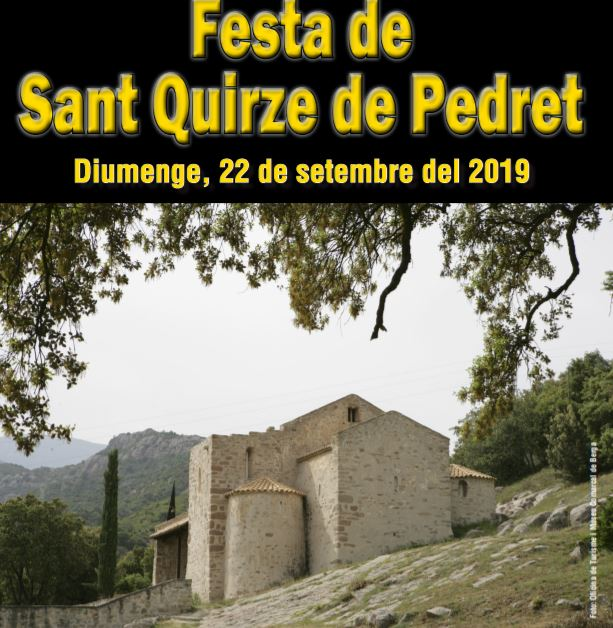 Festa de Sant Quirze de Pedret 2019 @ Sant Quirze de Pedret