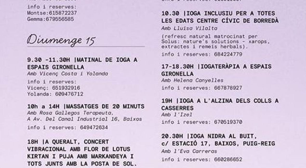 """Festival de Ioga – """"TOT ÉS POSSIBLE"""""""
