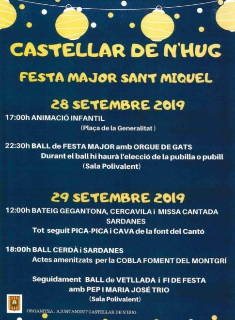 Festa Major de Sant Miquel 2019 @ Castellar de n'Hug