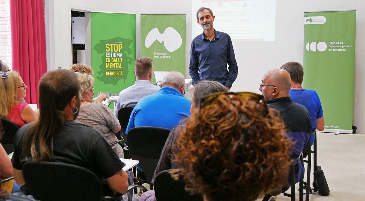 El Berguedà forma empresaris per combatre l'estigma en salut mental en el mercat laboral