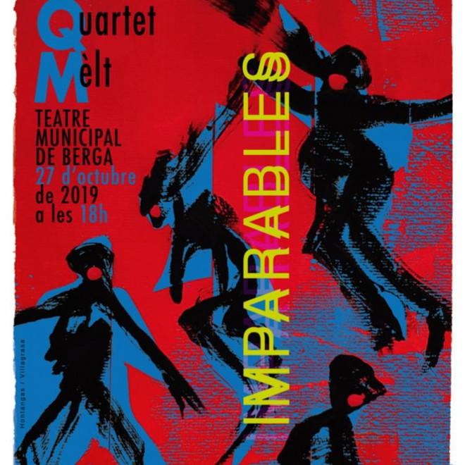 Concert solidari QUARTET MELT @ Teatre Municipal  de Berga