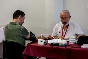 El Pavelló de Suècia de Berga acull dimecres i dijous l'última campanya de donació de sang de l'any