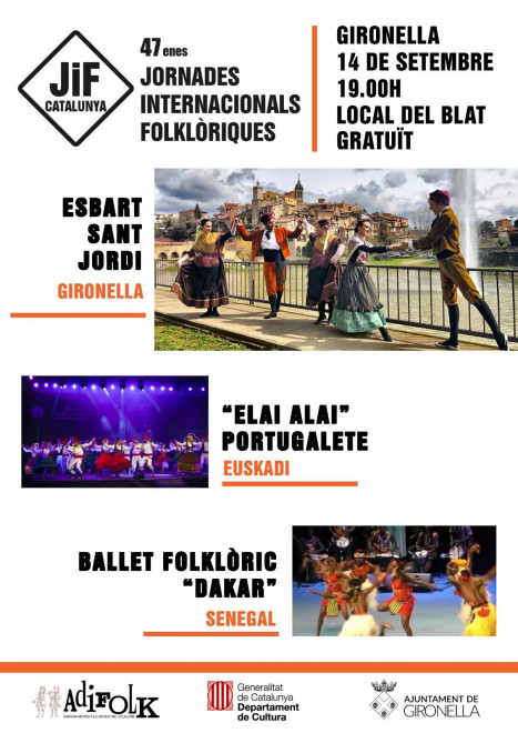 Jornades Internacionals Folklòriques 2019 @ Local del Blat (GIRONELLA)