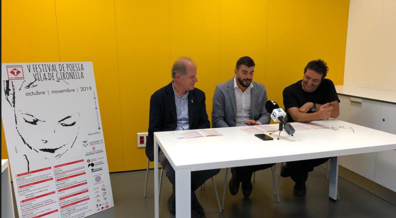 El Festival de Poesia Vila de Gironella es consolida i amplia la seva oferta