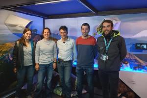 Una exposició itinerant sobre els Pirineus fa parada a Berga per rebre famílies i més de 300 escolars