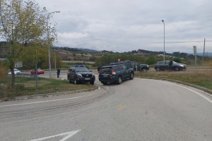 Nou control antiterrorista de la Guàrdia Civil a Berga