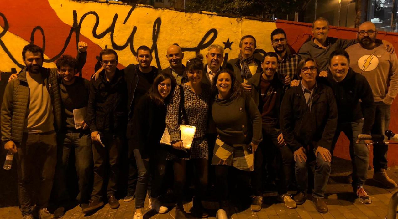 La trobada de càrrecs electes convocada per la CUP també atrau regidors d'ERC al Berguedà i de Junts per Berga