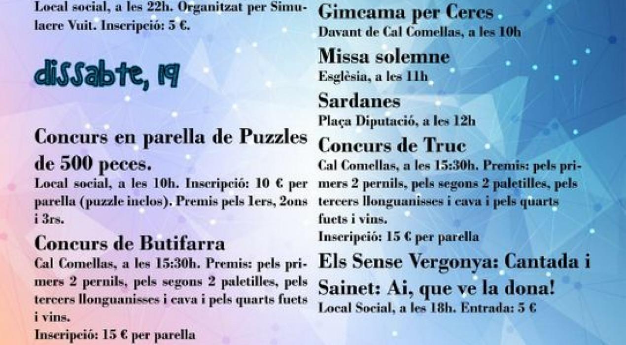 Festa Major de Cercs 2019