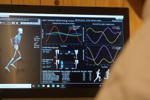 Els estudis biomecànics en 3D arriben al Berguedà de la mà de la podòloga Íngrid Soca