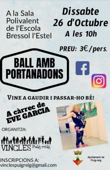 Ball amb portanadons @ Escola bressol l'Estel (PUIG-REIG)