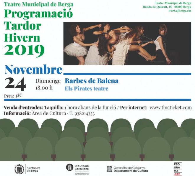 Barbes de balena @ Teatre Municipal de Berga