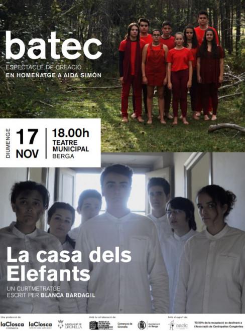 TEATRE 'Batec' + CURTMETRATGE 'La casa dels elefants' @ Teatre Municipal de Berga