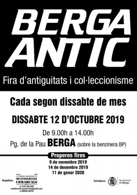 BERGA ANTIC · octubre 2019 @ Passeig de la Pau (BERGA)