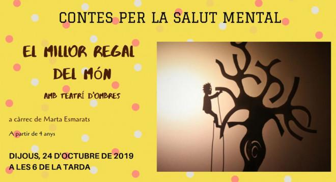 Hora del conte per la Salut Mental @ Biblioteca Ramon Vinyes i Cluet (BERGA)
