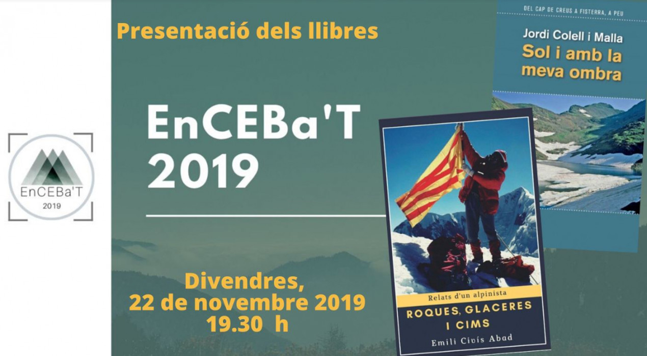 Presentació llibres EnCEBa'T 2019