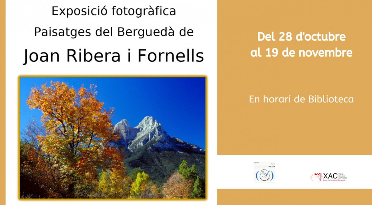 Exposició fotogràfica Paisatges del Berguedà