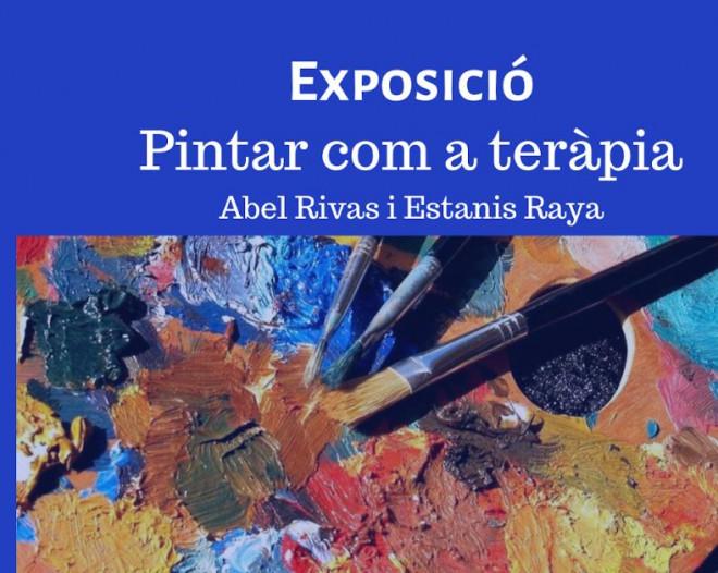 Exposició: Pintar com a teràpia @ Biblioteca Ramon Vinyes i Cluet (BERGA)