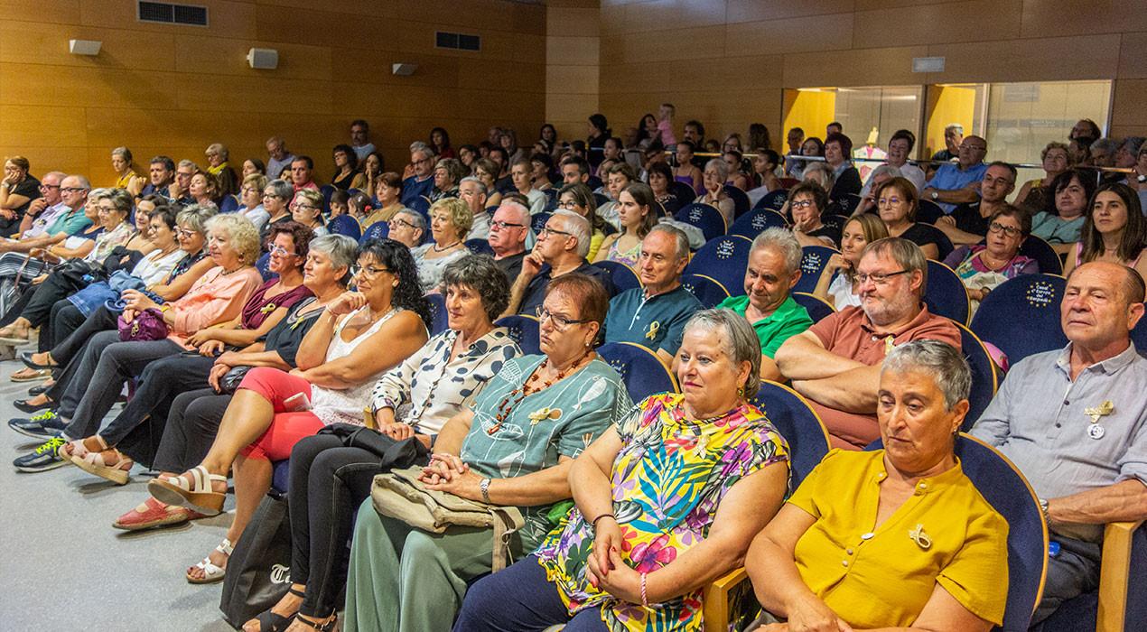 El Pavelló de Suècia de Berga queda petit per celebrar els 10 anys de Ginkgo