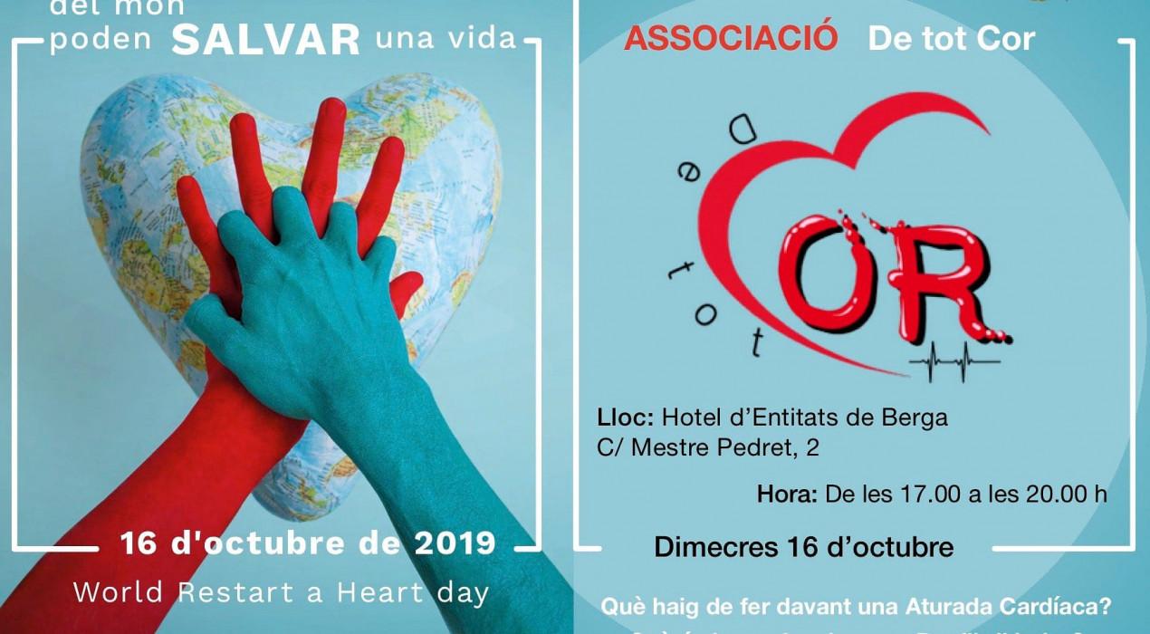 Jornada Mundial de Conscienciació de l'Aturada Cardiorespiratòria