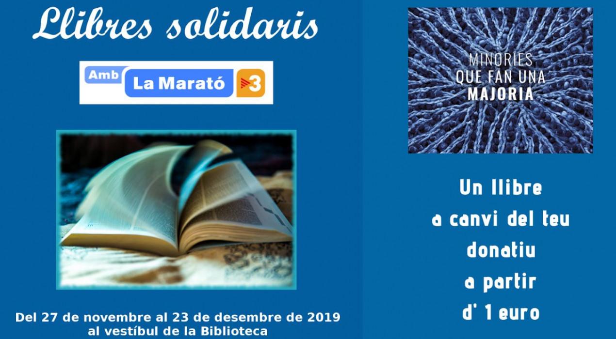 Llibres solidaris per la Marató de TV3