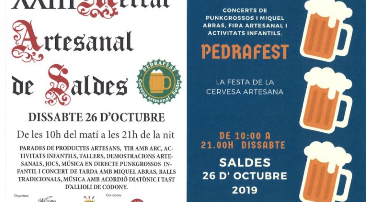 Mercat artesanal de Saldes i Pedrafest 2019