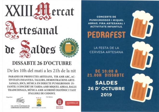 Mercat artesanal de Saldes i Pedrafest 2019 @ Saldes