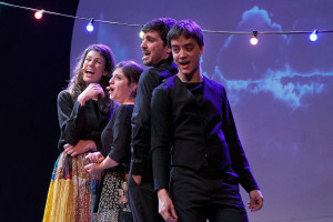 Un concert del Quartet Mèlt a Berga, l'antídot per comprar un tot terreny per als jardiners del Taller Coloma