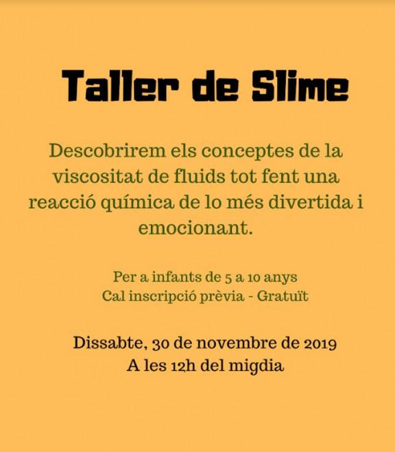 Bibliolab, Taller de Slime @ Biblioteca Ramon Vinyes i Cluet (BERGA)