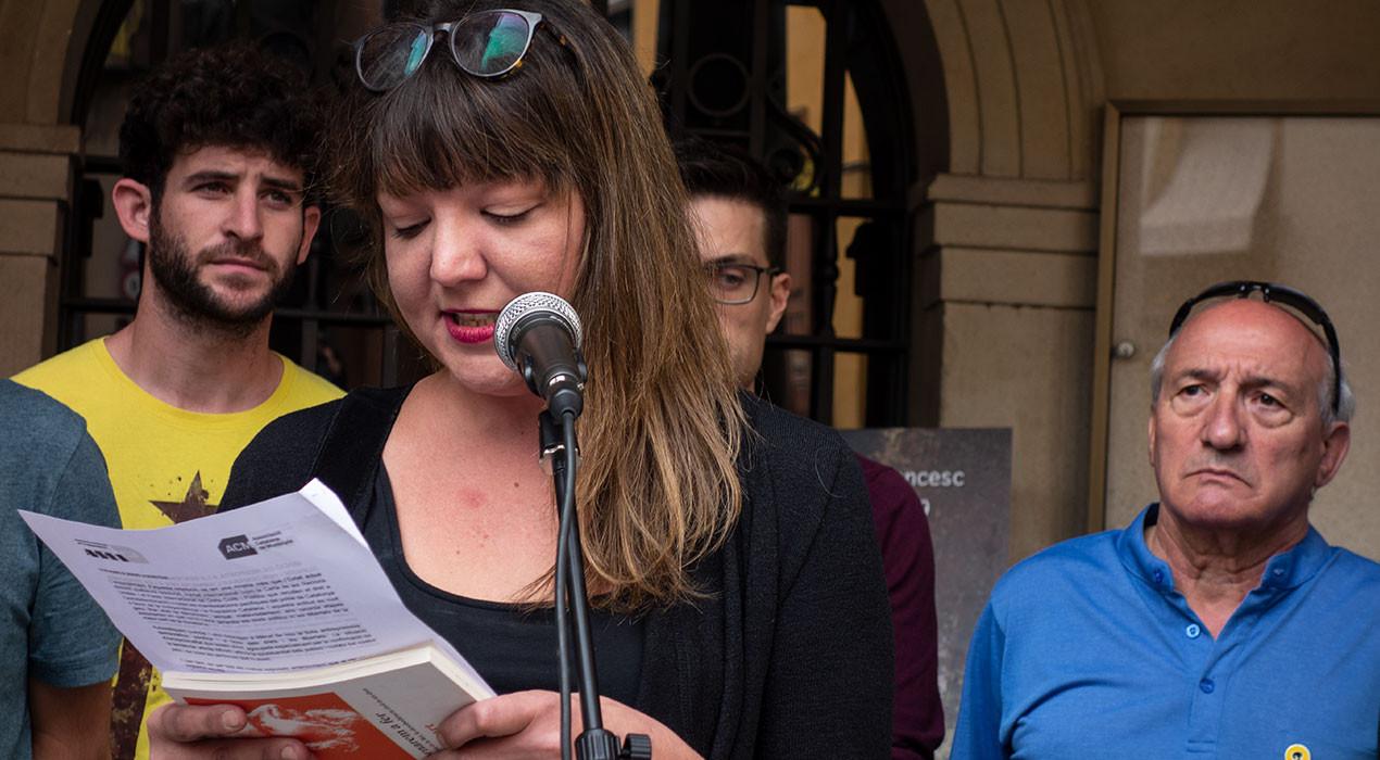 """Venturós reclama """"una batalla política"""" a les institucions: """"Hem d'anar més enllà de les concentracions"""""""