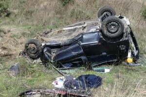 Un veí de Gironella, de 37 anys, mor a la C-26 a Olost en perdre el control del seu cotxe