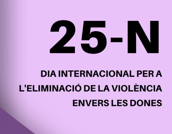 Lectura manifest 25N · Berga @ Davant de l'Ajuntament de Berga