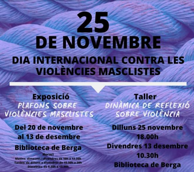 Taller: Dinàmica de reflexió sobre violència @ Biblioteca Ramon Vinyes i Cluet (BERGA)
