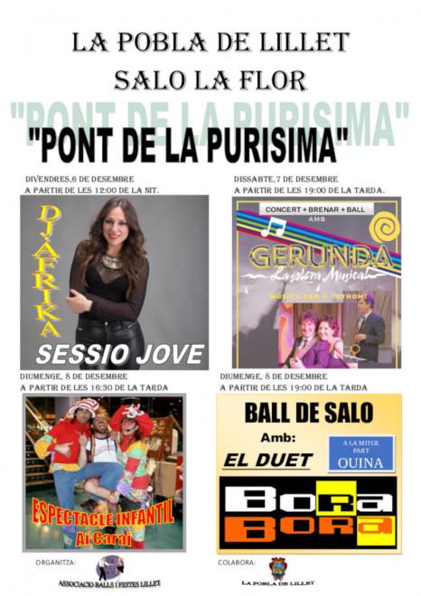 Ball a La Pobla de Lillet: BORA BORA @ Saló La Flor (LA POBLA DE LILLET)