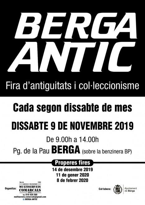 BERGA ANTIC · novembre 2019 @ Passeig de la Pau (BERGA)