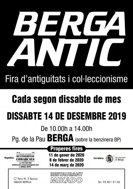 BERGA ANTIC · desembre 2019 @ Passeig de la Pau (BERGA)