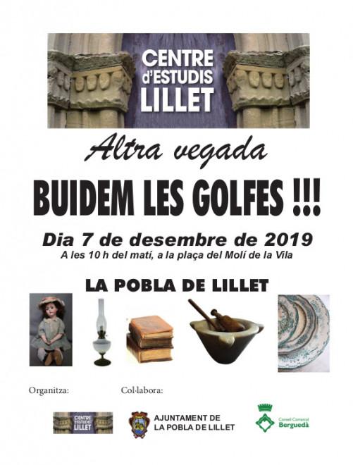 BUIDEM LES GOLFES @ Plaça del Molí de la Vila (LA POBLA DE LILLET)