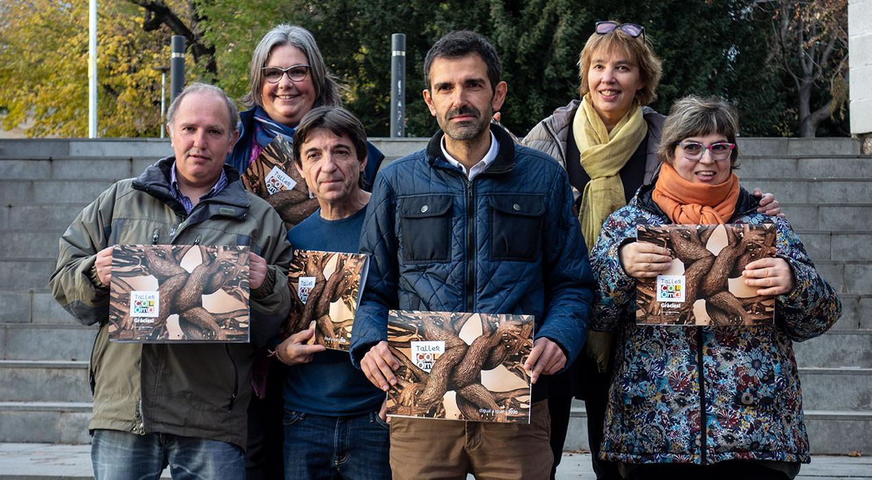El calendari solidari del Taller Coloma dona protagonisme als col·laboradors de la festa dels 35 anys