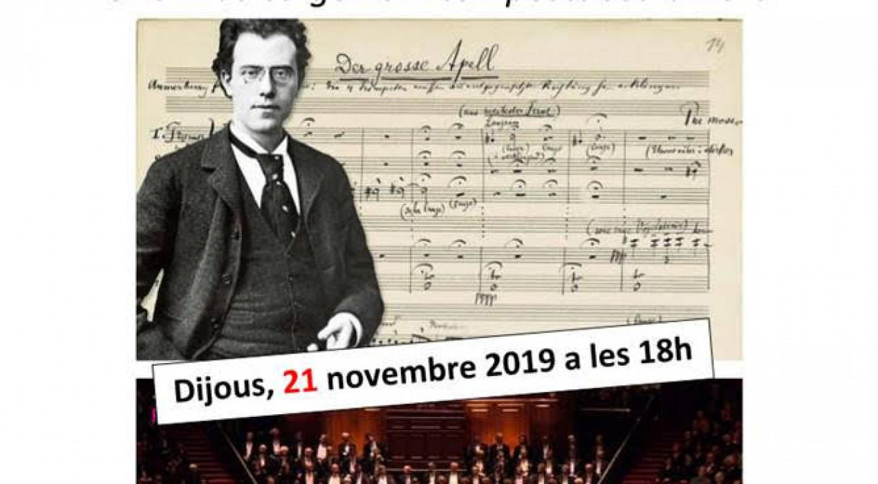 Club de música: Les simfonies de Mahler