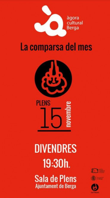 La comparsa del mes: els Plens @ Ajuntament de Berga