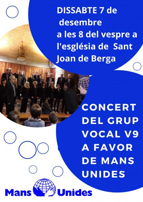 Concert del grup vocal V9 @ Església de Sant Joan (BERGA)