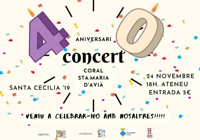 Concert de Santa Cecília @ Ateneu d'Avià