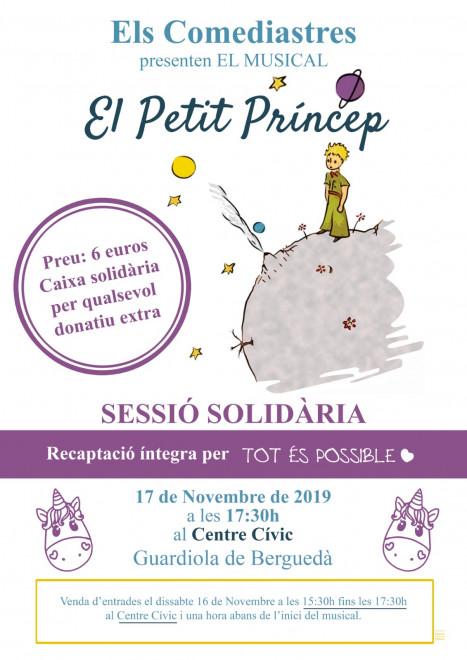 """MUSICAL """"El Petit Príncep"""" @ Centre Cívic (GUARDIOLA DE BERGUEDÀ)"""