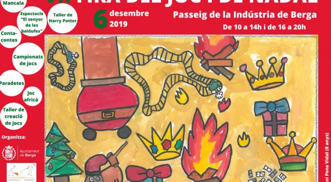 Fira del Joc i de Nadal de Berga 2019