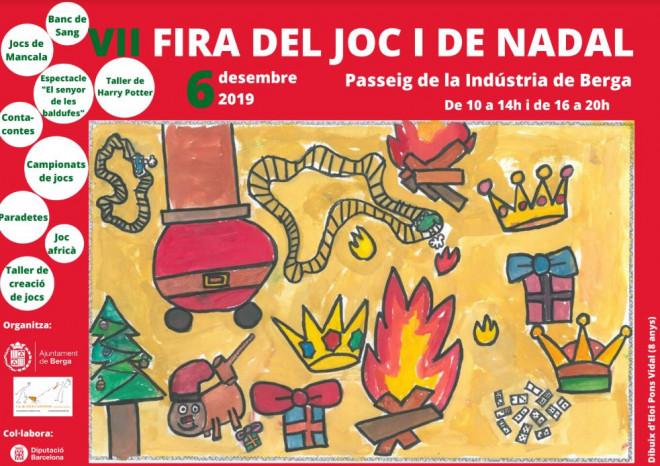 Fira del Joc i de Nadal de Berga 2019 @ Passeig de la Indústria (BERGA)