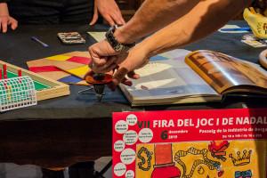 La baldufa, protagonista d'una Fira del Joc i de Nadal de Berga més inclusiva